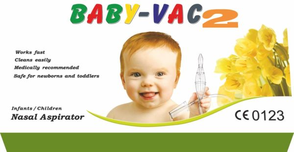Baby-Vac Детски аспиратор за нос Arianna